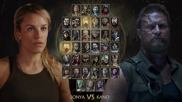 Mortal Kombat movie actors want to be put in MK11