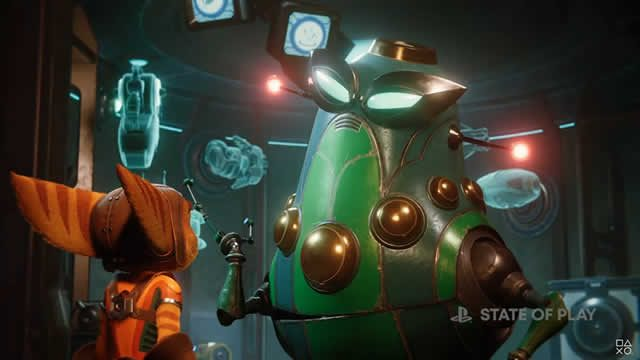 New Ratchet and Clank: Rift Apart gameplay footage