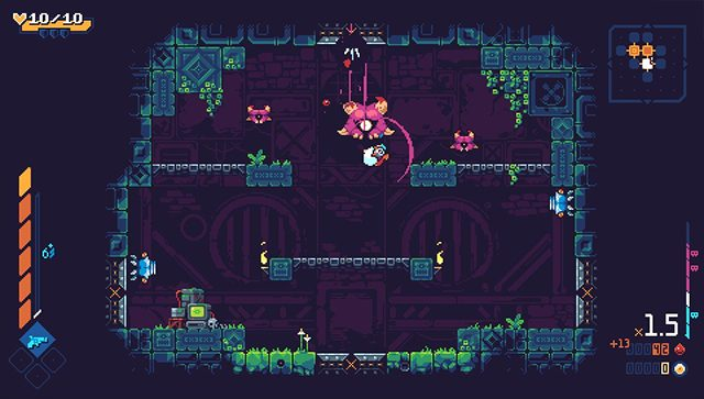ScourgeBringer is a fitting 'final' Vita game