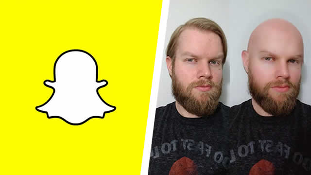 Snapchat - How to get the Bald Head Filter