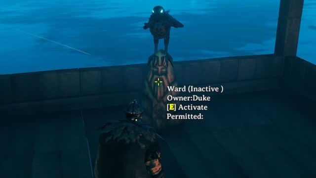 Valheim ward permissions - How to authorize other players