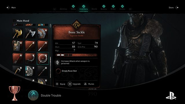 Assassin's Creed Valhalla Wrath of the Druids sickle locations