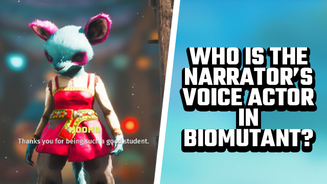 BIOMUTANT WHO IS THE narrator voice actor