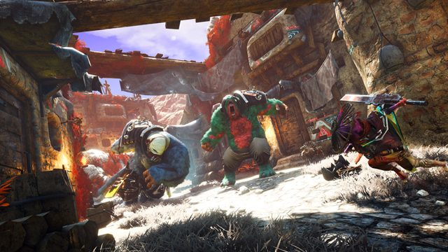 Biomutant multiplayer PvP co-op