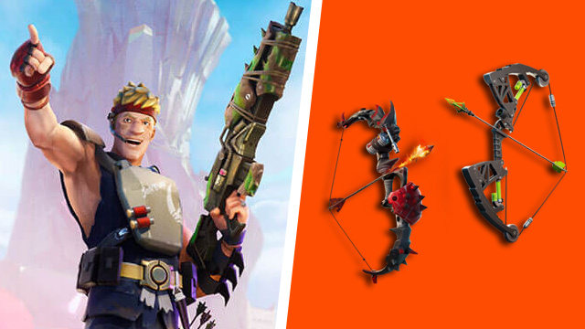 Fortnite can't craft Primal Fire Bows Mechanical Bow