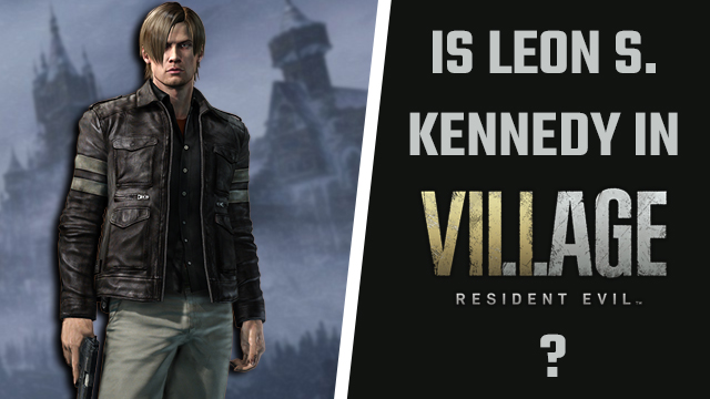 Is Leon S. Kennedy in Resident Evil 8?