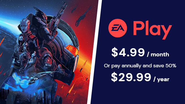 Is Mass Effect Legendary Edition coming to EA Play?