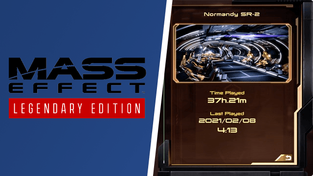 Mass Effect Legendary Edition Old Save Compatibility