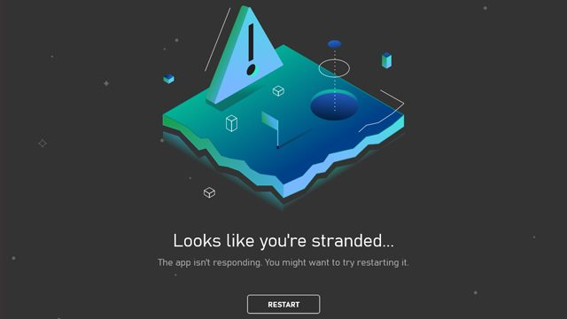 PC Xbox app Looks like you're stranded fix