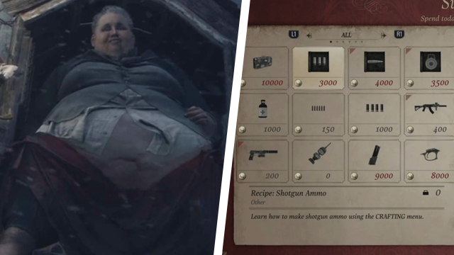 What to buy first in Resident Evil Village