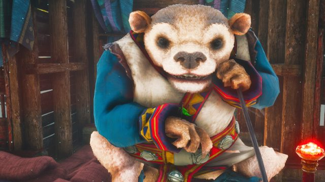 biomutant who is the narrator voice actor character