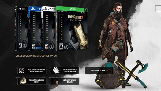 The Dying Light 2 Collector's Edition has a zombie statue that lights up and that's okay