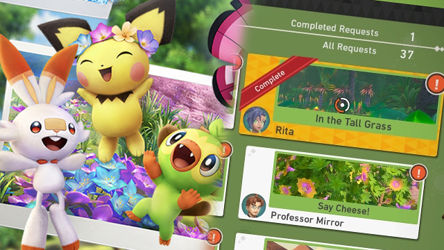 new pokemon snap in the tall grass request