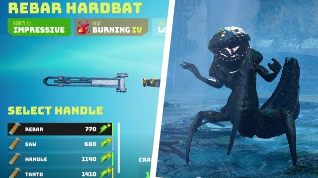 How to craft new weapons in Biomutant