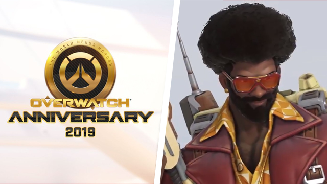 Overwatch update welcomes in Anniversary event and new skins