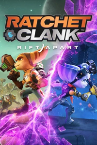 Box art - Ratchet and Clank: A Rift Apart