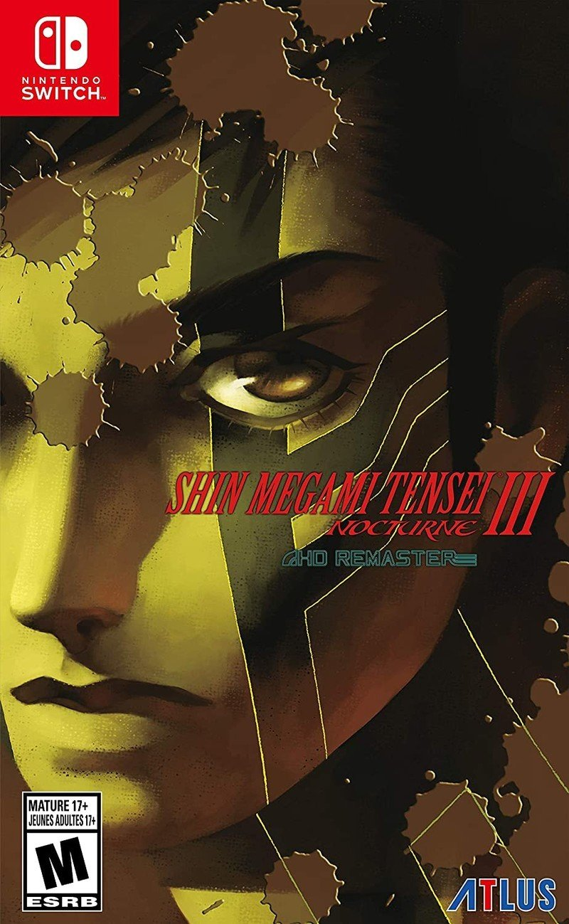 Box art - Shin Megami Tensei 3: Nocturne HD Remaster