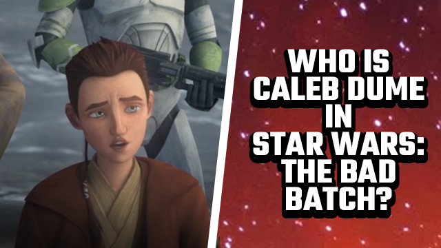 star wars the bad batch caleb dume voice actor