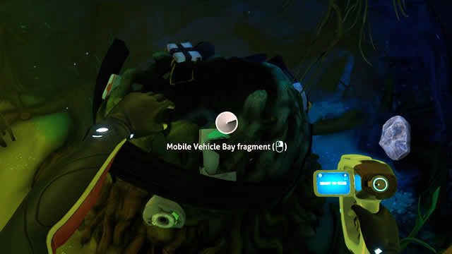 Where to find Mobile Vehicle Bay fragments in Subnautica Below Zero