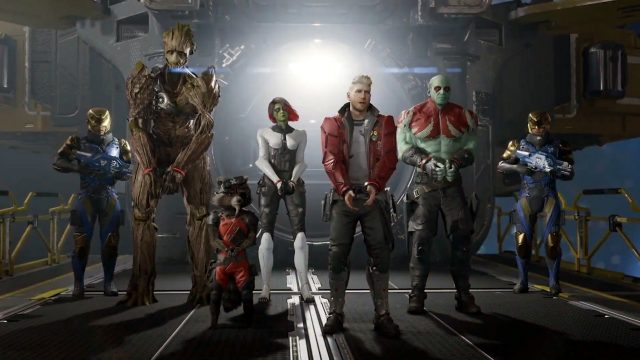 Guardians of the Galaxy MCU skins