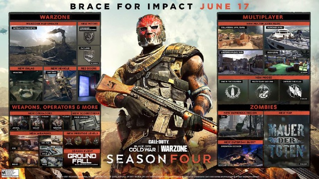 Call of Duty Warzone Season 4 end date