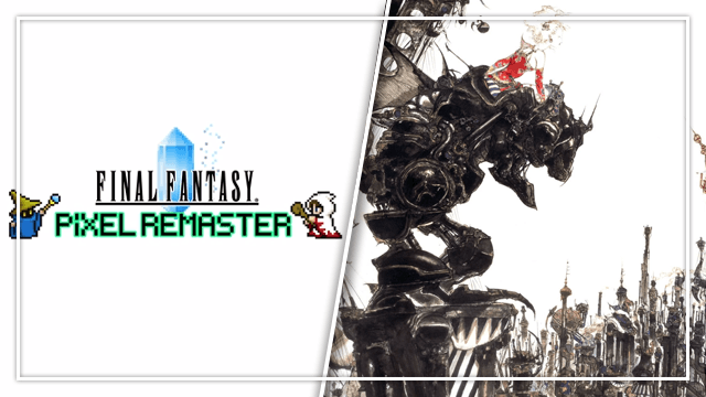 Final Fantasy Pixel Remaster Switch release date