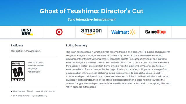 Ghost of Tsushima Director's Cut free PS5 upgrade