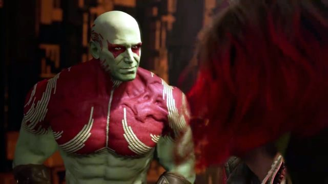 Guardians of the Galaxy game Drax