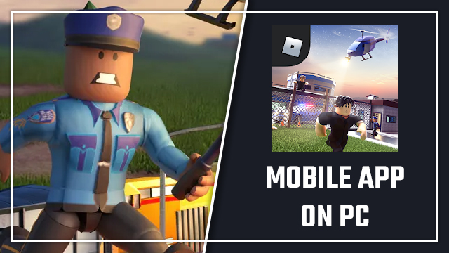 How to get Roblox to look like mobile on Windows PC