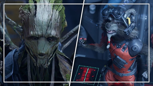 Marvel's Guardians of the Galaxy playable characters