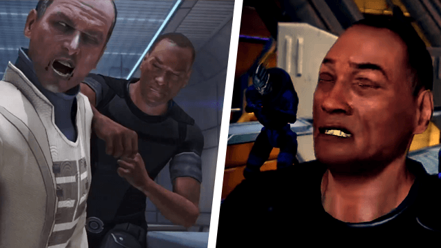 Mass Effect Anderson Choice break into office citadel control