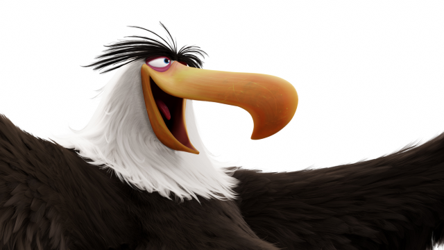Eagle in Angry Birds