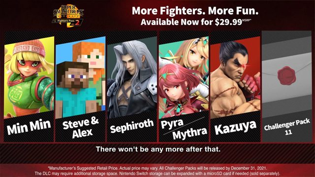 Smash Ultimate Fighter Pass 3
