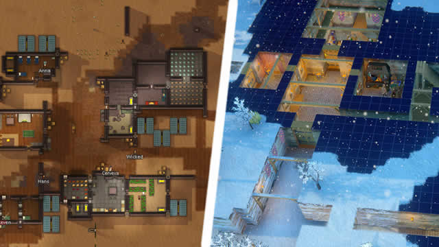 What are the differences between Rimworld and Going Medieval?