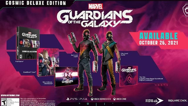 guardians of the galaxy cosmic deluxe edition preorder