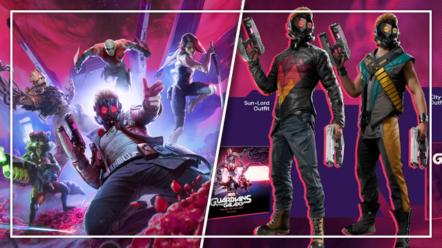 guardians of the galaxy game cosmic deluxe edition pre-order