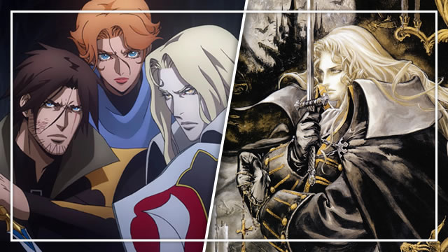 Is the Netflix Castlevania spin-off Symphony of the Night?