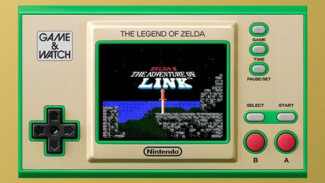 The Legend of Zelda Game and Watch price and preorder