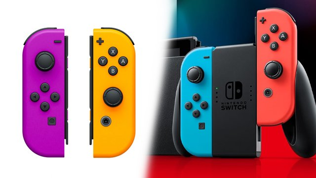nintendo switch charge joy cons while playing