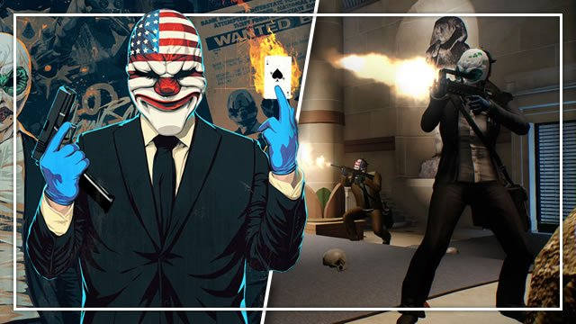PayDay 2 Controls: PC, PlayStation, Xbox, Switch