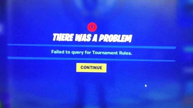 Thanos Cup failed to query for tournament rules