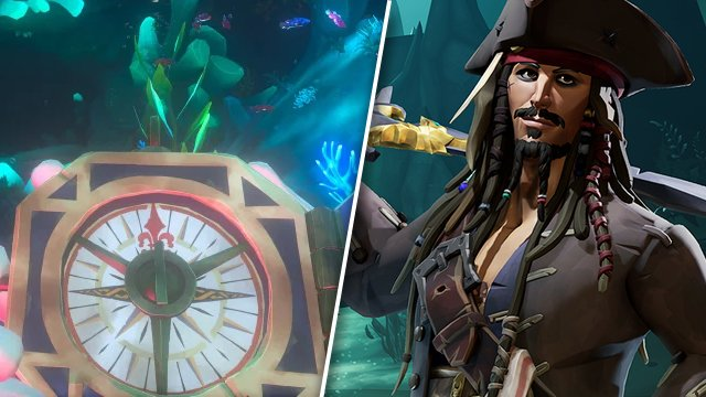 Sea of Thieves Jack Sparrow's compass not working
