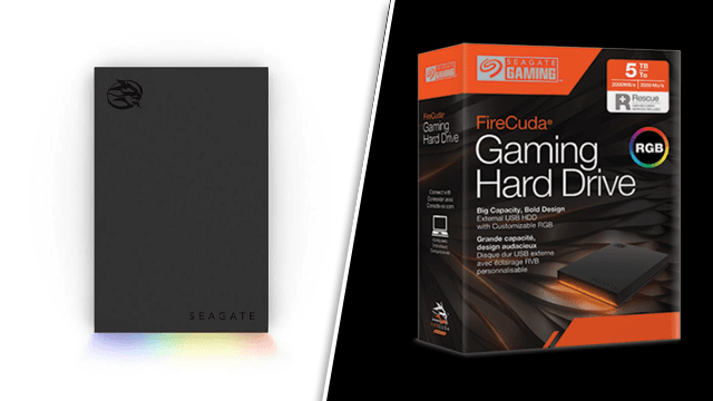 Seagate Firecuda gaming hard drive review