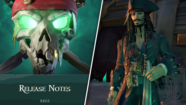 Seas of Thieves update 2.2.0.3 patch notes