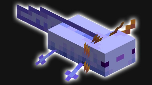 command to spawn blue axolotl in Minecraft