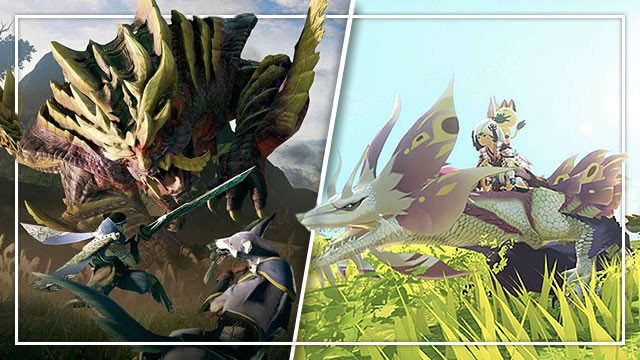 What are the differences between Monster Hunter Rise and Monster Hunter Stories?