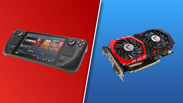 Steam Deck GPU equivalent: What video card does it compare to?
