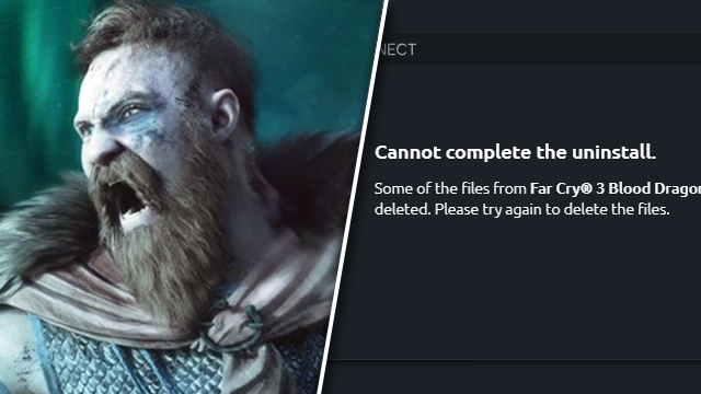 ubisoft connect cannot complete the uninstall error