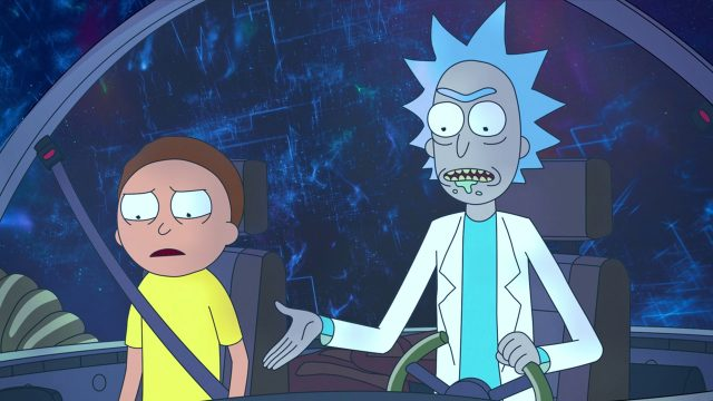 Rick and Morty Space Jam