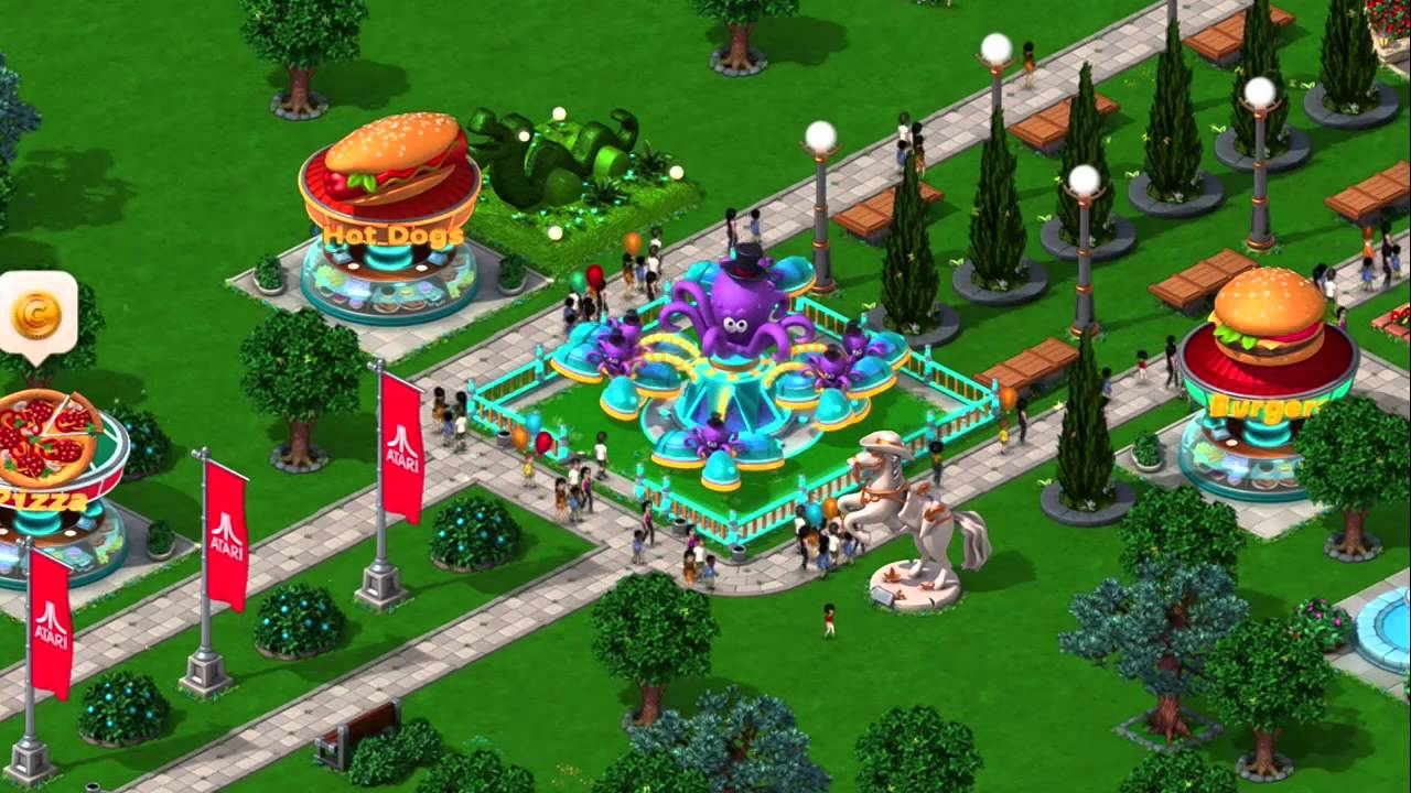 Roller Coaster Tycoon 4 free. download full Version